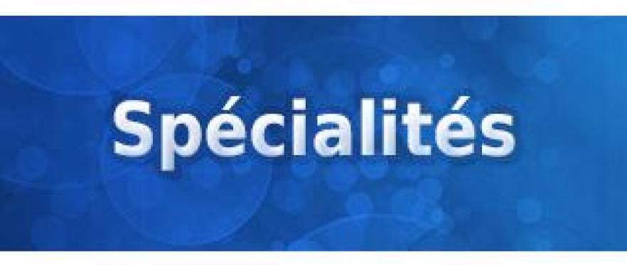 Specialites